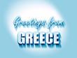 Obrazy na płótnie, fototapety, zdjęcia, fotoobrazy drukowane : Greetings from greece
