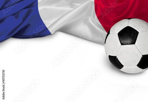 Poster Fußballnation Frankreich