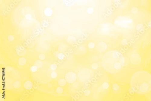 Yellow background blur.