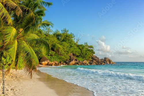 mata magnetyczna paradisiac anse georgette beach in seychelles praslin island
