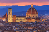 Sunset at Florence, Toscana, Italy