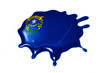 blot with nevada state flag