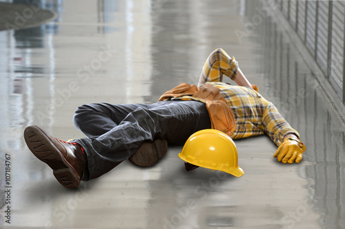 Construction Worker Injured After Fall