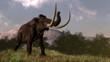 Постер, плакат: Mammoth 3D render