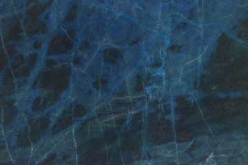 blue dark marble texture for background