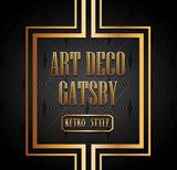 art deco element gatsby design