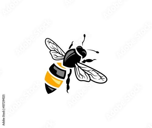 Zdjęcia na płótnie, fototapety, obrazy : Bee logo