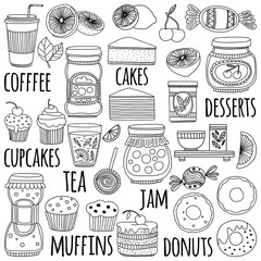 Images for confectionery or coffee shop