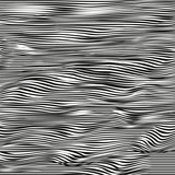 Abstract vector texture of curving lines, black and white drawing, halftone effect - 107331509