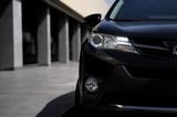 Black SUV auto car