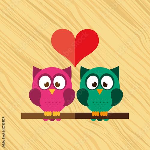 owl bird design