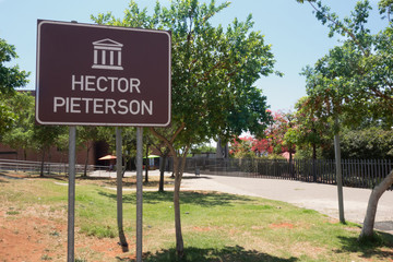Hector Pieterson memorial in Soweto, South Africa