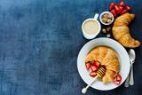 Fototapety Tasty breakfast table