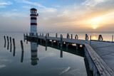 Lighthouse at Neusiedl am see, Austria