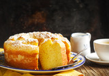 Lemon Yogurt Coffee Cake