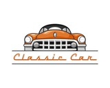 Classic car 02 Orange