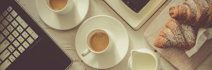 Business coffee break concept © anaumenko