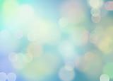 Dreamy bokeh in blauw - 107433101