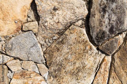 close up of rock texture outdoors