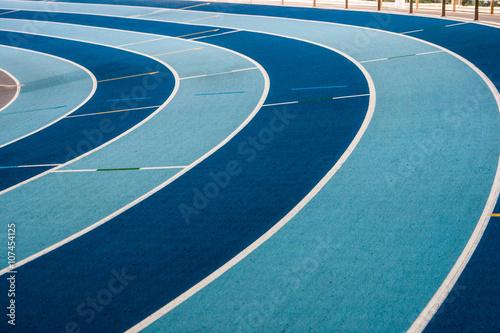 mata magnetyczna stade athlétisme virage piste