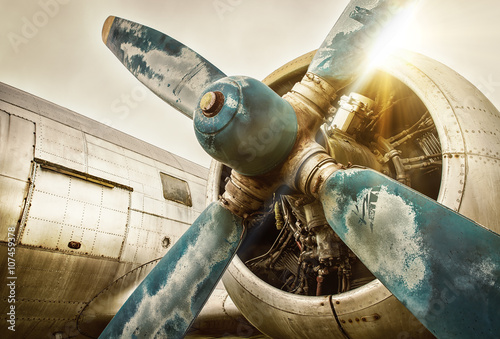 Foto op Canvas Bestsellers old airplane