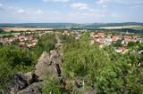 Village Hudlice near Beroun, Central Bohemia, Czech republic