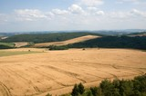 Landscape near village Hudlice in the Cesky Kras, Central Bohemia, Czech republic