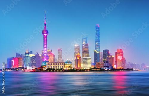 Zdjęcia na płótnie, fototapety na wymiar, obrazy na ścianę : Shanghai