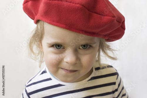 Foto Murales French girl