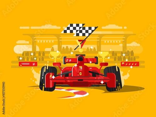 Poster Sport car formula one