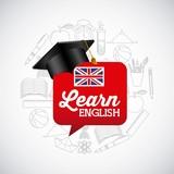 Fototapety learn english design
