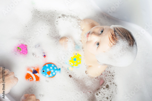 Póster Time for baby's bath