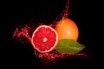 Czerwony grejfrut
