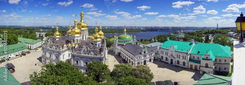 Foto op Aluminium Kiev Spring Monastery in Kiev
