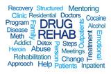 Drug Rehab Word Cloud