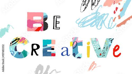 Creativity and Inspiration.  .Vector illustration