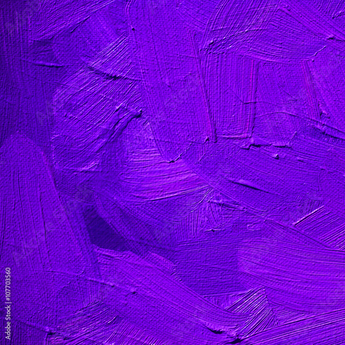 Leinwanddruck Bild purple lilac background with large strokes of paint,pattern,wallpaper, painting