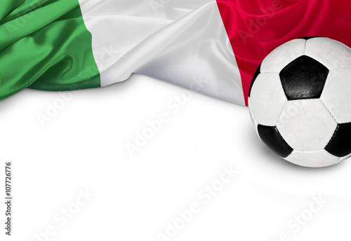 Poster Fußballnation Italien