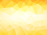 Fototapety Light orange low poly background