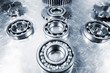 titanium ball-bearings and pinions, aerospace industrial parts