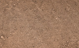 Brown ground surface. Close up natural background - 107768523