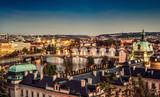 Prague at twilight - 107770157