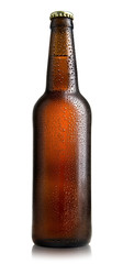 Brown bottle of beer © Givaga