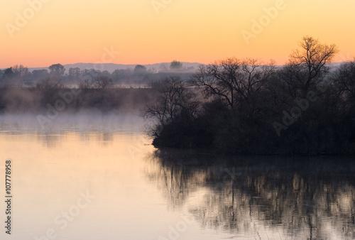 Poster Sunrise Over the Snake River