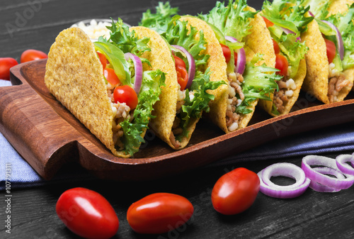 Mexican food tacos Plakát