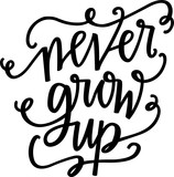 Never grow up - 107812705