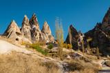Uchisar town in Cappadocia. Turkey - 107821565