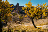 Uchisar town in Cappadocia. Turkey - 107821587