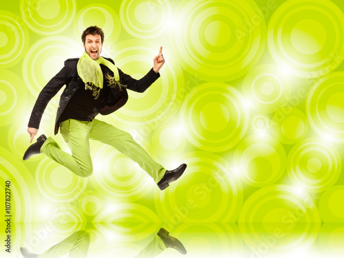 Tańczący mężczyzna