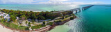 Bahia Honda state park aerial view, Florida
